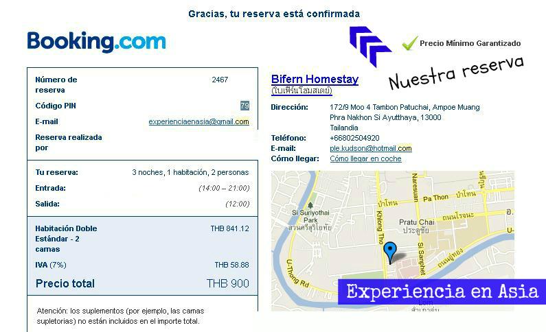 web reserva hotel: