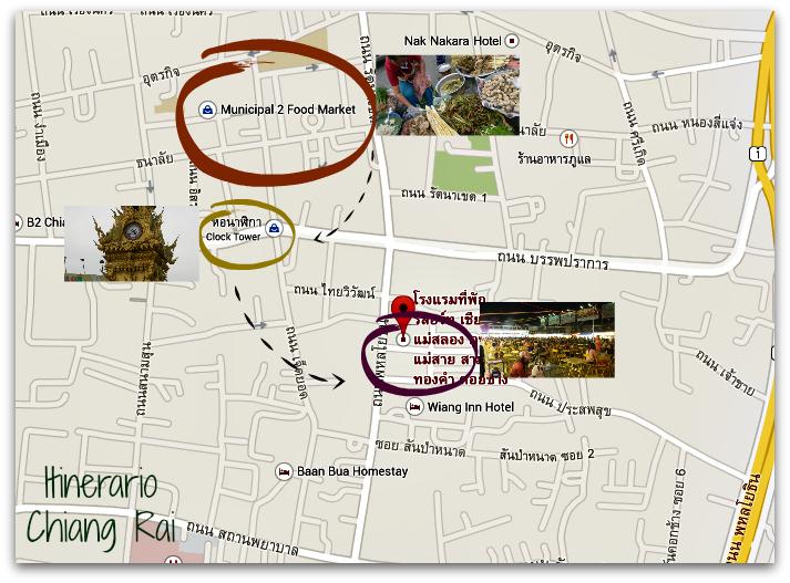 Haciendo click en el mapa verás el recorrido detallado.